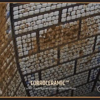 CorroCube Spoon Impact Deflector Plate