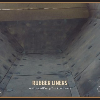 Articulated Dump Truck bed liners