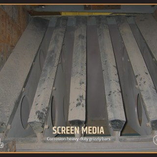 Corrosion heavy-duty grizzly bars