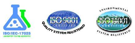 Three ISO logos