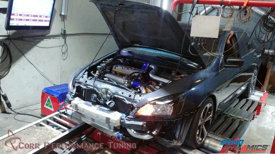 2007 Honda Accord turbo – KTuner calibration – Corr