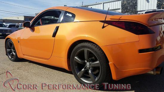 2007 Nissan 350z – UpRev calibration – Corr Performance