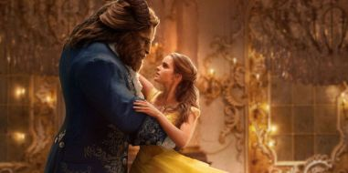 and the same scene from Beauty and the Beast 2017