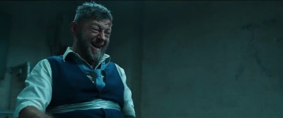 Andy Serkis reprises his role as Ulysses Klaue