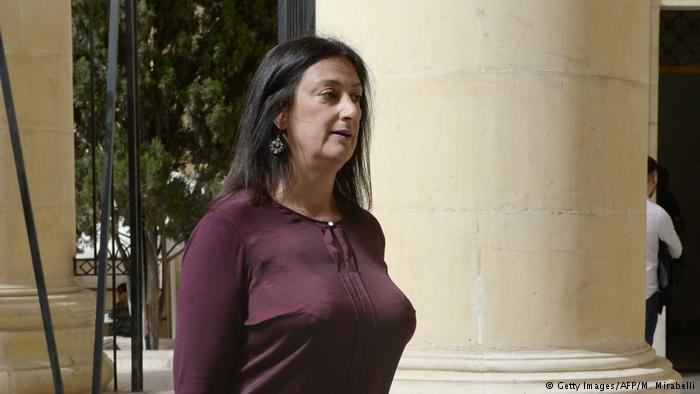 Maltese journalist Daphne Caruana Galizia