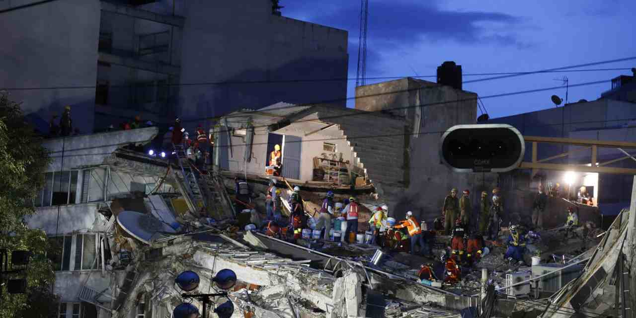 Mexico – Nexus between earthquake and corruption.