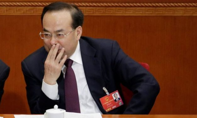 China: Top graft buster to go after political deviation.
