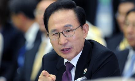 South Korea: Former South Korean president Lee Myung-bak taken to prison