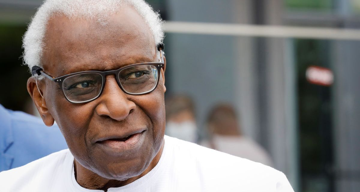 France: Lamine Diack back in French court as part of Olympic bid vote investigation.