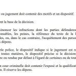 RANARISON Tsilavo NEXTHOPE article 94 du code de procédure pénale malgache – Tout arrêt ou jugement doit contenir des motifs et un dispositif