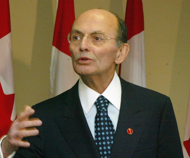 Leo Kolber was a major Liberal Party fundraiser, and once jokingly referred to himself as the Bronfman family's 'consigliere.' (Fred Chartrand/Canadian Press)