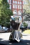 Corset sculture by Kalliopi Lemos