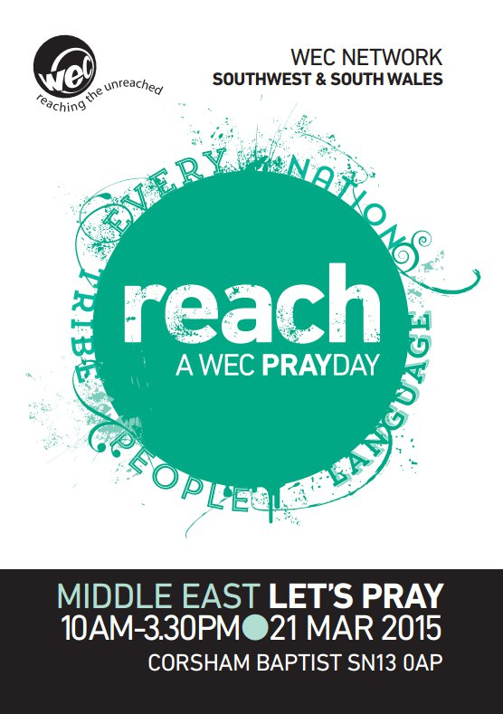 WEC Prayer Day Flyer