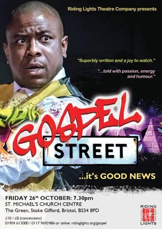 Riding Lights Gospel Street flyer