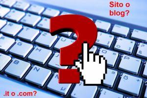 sito o blog slide