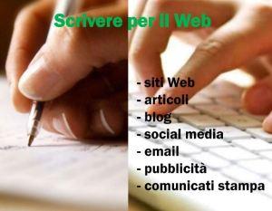 scrivere per il web slide