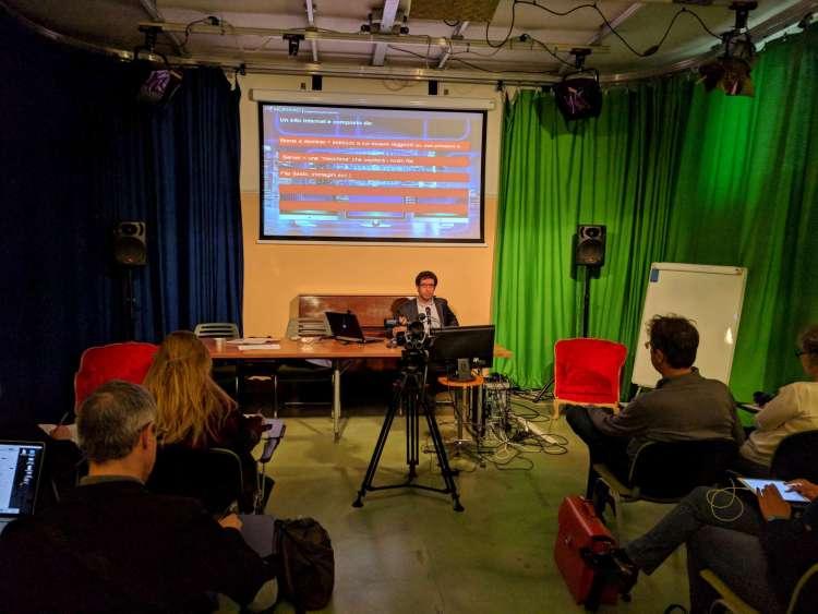 Corso WordPress plugin base giornalisti Milano Filippo Tramelli