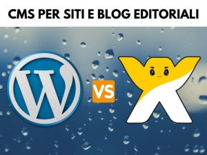 corso wp vs wix cms per siti_blog editoriali