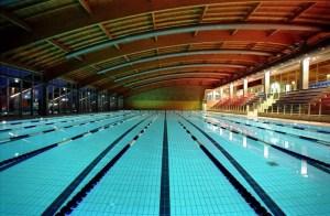 La piscina di Riccione, teatro del Campionato Assoluto e della Coppa Brema 2015