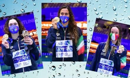 Europei 2021   Panziera, Pilato, Quadarella tris d'oro. Super Razzo e staffette miste sul podio