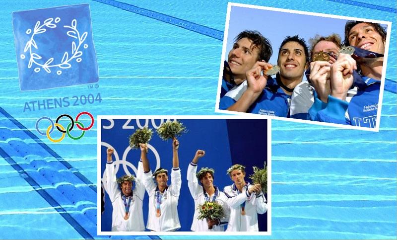ItalNuoto e Olimpiadi | Atene 2004, la prima medaglia olimpica di staffetta