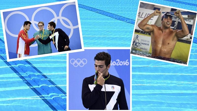 ItalNuoto e Olimpiadi | Rio 2016 si apre con il bronzo di Gabriele Detti