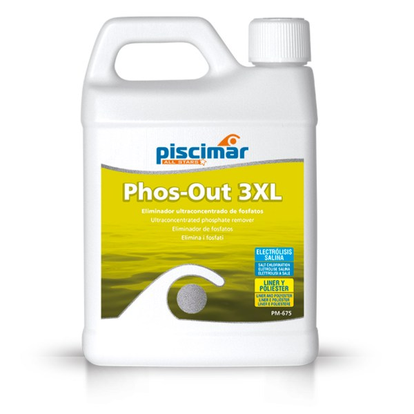 Eliminar fosfatos piscina