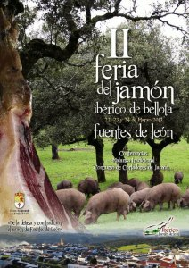 II Feria del Jamón Ibérico de Bellota Fuentes de León 2013