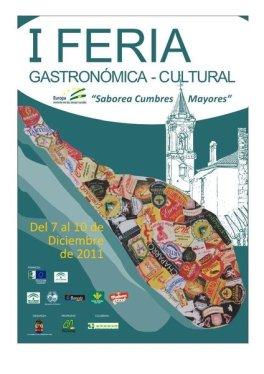 I Feria Gastronómica-Cultural Saborea Cumbres Mayores