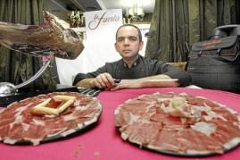 El arte de cortar jamón se hace internacional