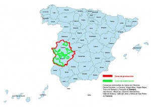 Provincias DOP Dehesa de Extremadura