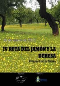 IV Ruta Senderista del Jamón y la Dehesa Fregenal de la Sierra (Badajoz)
