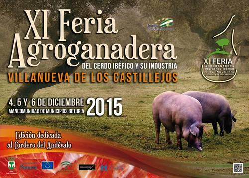 Feria agroganadera del cero iberio y su industria de Villanueva de los Castillejos