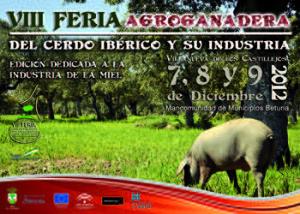 VIII Feria Agroganadera del Cerdo Ibérico y su Industria en Villanueva de los Castillejos