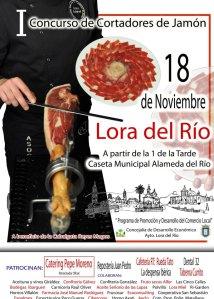 I Concurso de Cortadores de Jamón de Lora del Río (Sevilla)