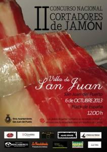 II Concurso de cortadores de jamón de San Juan del Puerto
