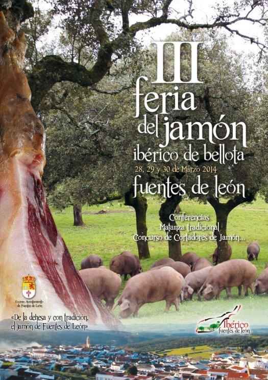 Feria del jamón ibérico de bellota de Fuentes de León