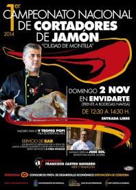 I Concurso de cortadores de jamón Ciudad de Montilla