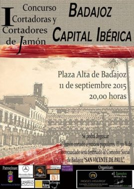 I Concurso Cortadoras/es de Jamón Badajoz Capital Ibérica