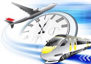 Los cortadores de jamón y los viajes en tren y avión