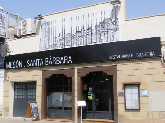 Mesón Santa Bárbara - Comer jamón de Teruel