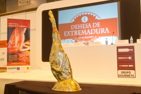 Gabriel Heredia, mejor cortador de jamón DO Dehesa de Extremadura