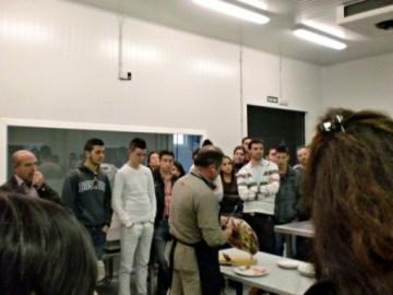La Escuela de Hostelería de Punta Umbría visita las instalaciones del TEICA