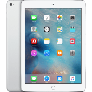 Apple iPad Air 2 Wi-Fi 64GB – Silver with Smart Case