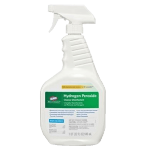 Clorox Healthcare Hydrogen Peroixide Disinfectant Spray