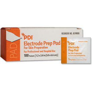 Electrode Prep Pads with Pumice