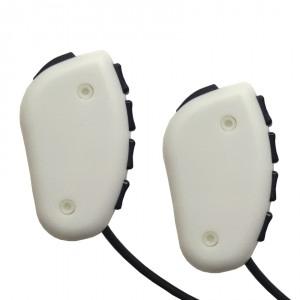 Pyka 5 button bimanual response device