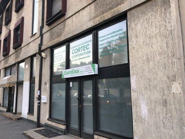CorteCros office facade
