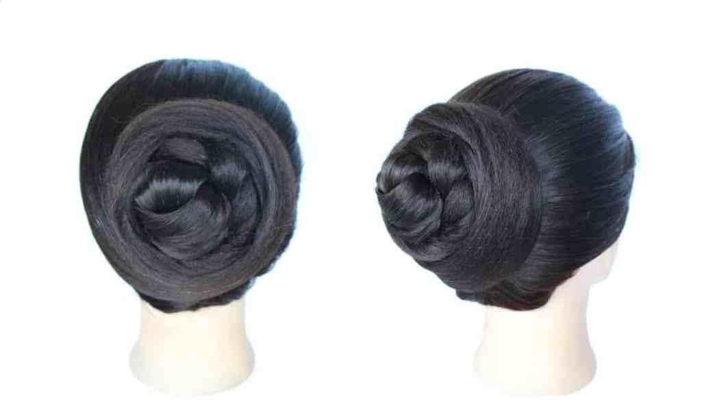 How To Make Simple Juda In Short Hair Amathair