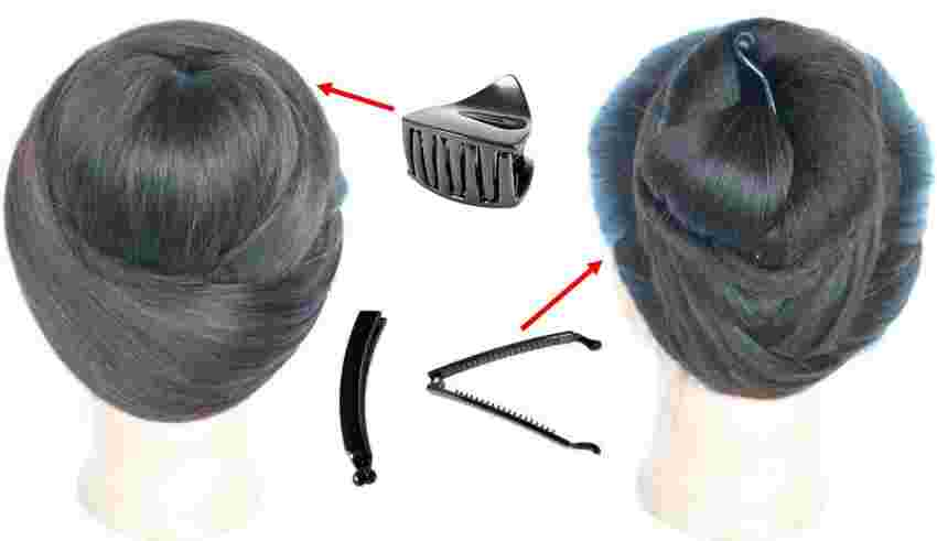 2 Cute Amp Easy Hairstyles With Using Clutcher Cute